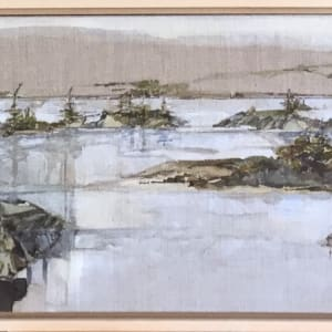 Inland Pond IP 43-20 'Spring' by Barbara Houston
