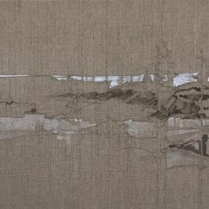 Inland Pond IP 43-8a/8b Diptych by Barbara Houston