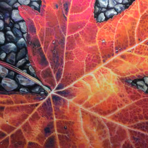 Autumn Repose II: On the Path by Hope Martin