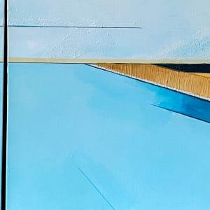Owen's River Morning (Triptych) by Savannah Ball