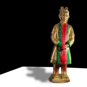 THE REALFAKE SERIES: THE GUCCI WARRIOR by judith angerman  Image: Gucci Warrior: facing front