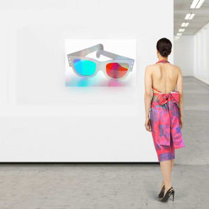 3-D GLASSES by judith angerman