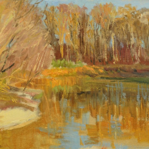 Wolf River in Fall Color, Collierville, TN