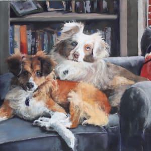 Dakota and Bear by Renee Leopardi