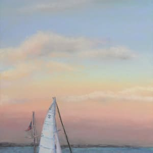 Sunset Sail by Renee Leopardi