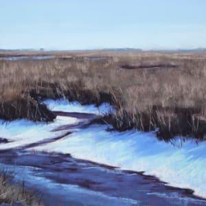 Snow on the Marsh by Renee Leopardi