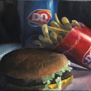 Burger and Fries by Randy Robinson