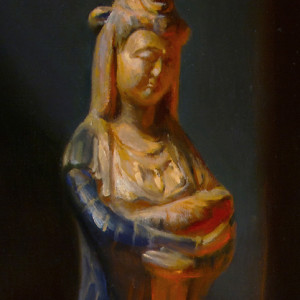 Guan Yin, A prayer for Compassion by Leah Lopez