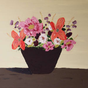 Spring Basket by Jennifer Crouch