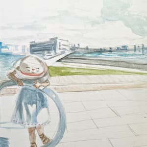 FH Little Girl in Hat by Maria Kelebeev