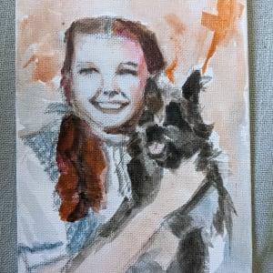 Dorthy and Toto by Maria Kelebeev