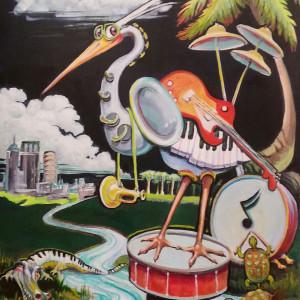 Gasparilla music festival poster or1lfw
