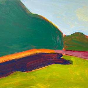 Storm King with orange by Jessica Singerman
