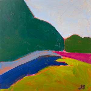 Storm King with lavender by Jessica Singerman