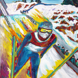 USA Olympic Ski Jumping by Frenchy