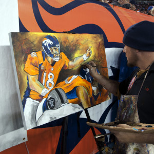 Peyton Manning by Frenchy