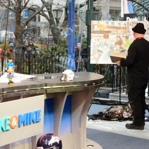 Mike n Mike Super Bowl XLVIII Set NYC