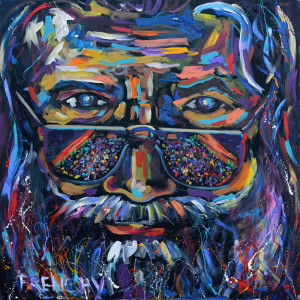 Jerry Garcia Portrait by Frenchy