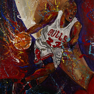 Michael Jordan by Frenchy