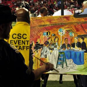 ESPN MNF PreGame Atlanta 2010