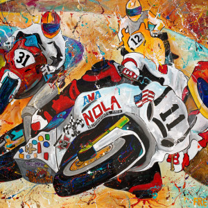 Nola MotorBike Race by Frenchy