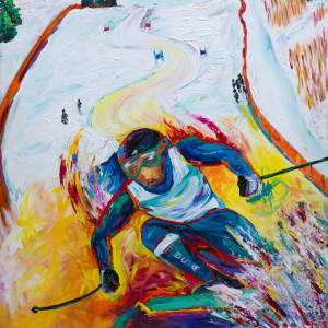 Mens Giant Slalom by Frenchy