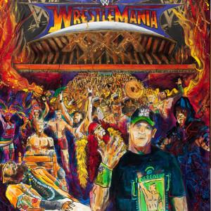 WWE - WrestleMania XXX by Frenchy
