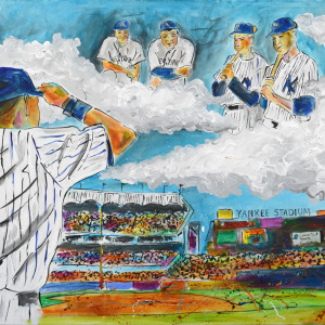 Yankees Legends by Frenchy