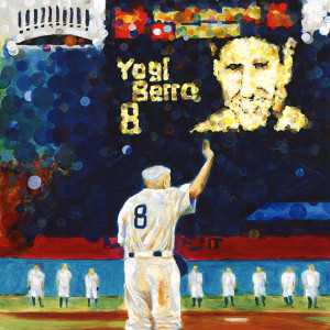 Yogi Berra by Frenchy
