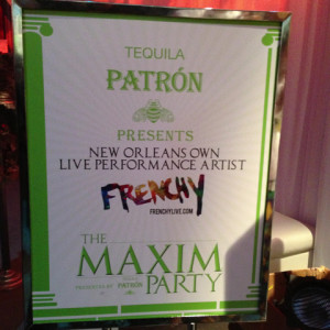Maxim & Patron - 2013 SuperBowl Party by Frenchy