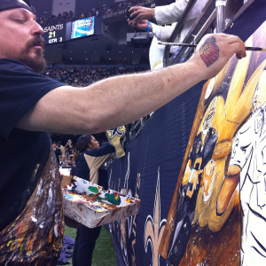 Drew Brees by Frenchy