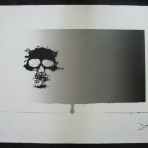 Untitled (Skull) by Jasper Johns