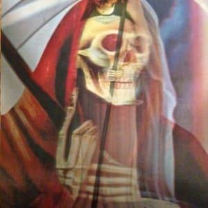 Santa Muerte Hologram (1) by Unknown