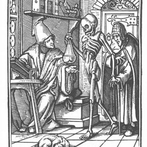 The Complete First Latin edition of Totentanz by Hans Holbein