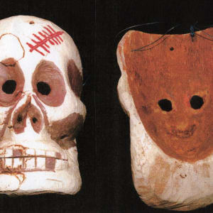 Day of the Dead Mask and Costume (1) by Unknown