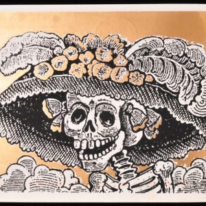 Calavera Catrina (Calavera of a Society Belle) by José Guadalupe Posada
