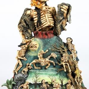 Sculpture of Death Laughing by Demetrio Garcia Aguilar