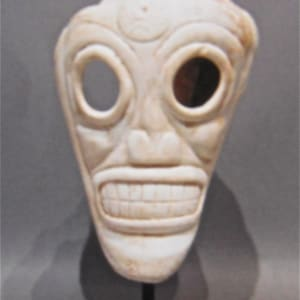 Santa Domingo Taino Skull (1) by Unknown