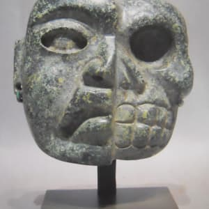 Olmec Mask Depicting Life and Death (1) by Unknown