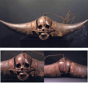 Nagaland, India, Head Hunter's Trophy by Unknown