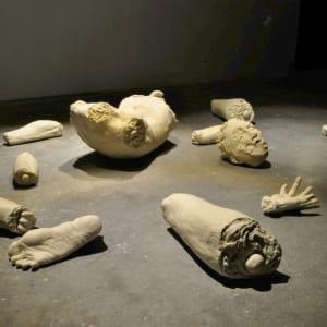 Dismmembered Bodies Memorial/ Clay Traffic (Corruption in Mexican Politics) by Rodrigo Lara Zendejas