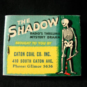 The Shadow Classic Matchbook by Unknown