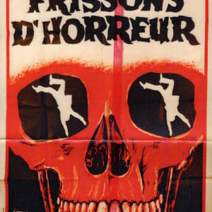 Frisson D'Horreur Movie Poster by Niklaus Stoecklin