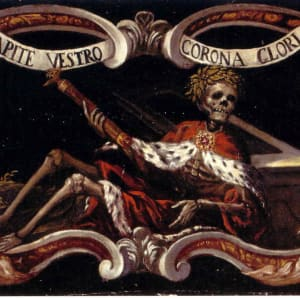 Allegory of Mortality by Follower of Don Juan de Valdes Leal