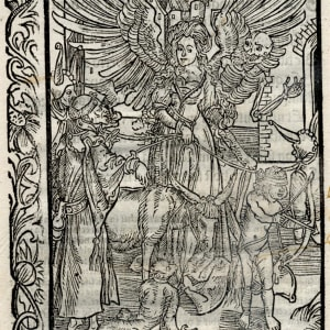 Untitled (Venus and Cupid with a Monk) (1) by Albrecht Durer