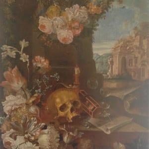 Vanitas by Franz Werner Von Tamm