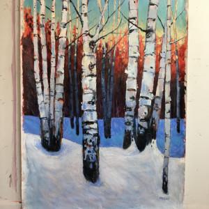 Sleeping Birches 1