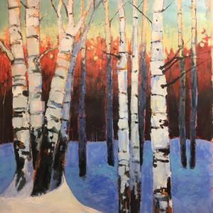 Sleeping Birches 2