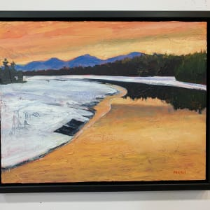 Curve in the River by Holly Friesen