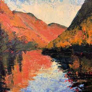 Cascade Lake (Autumn Glow)